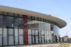 秋葉区総合体育館の画像